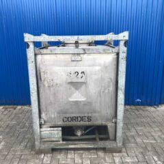 1000L Edelstahl IBC Container-0