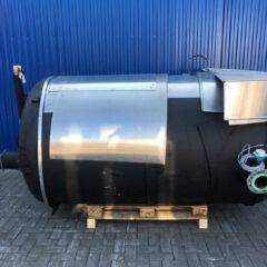 3000L Edelstahlbehälter / Druckbehälter-0