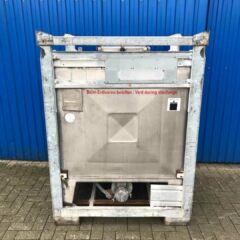 1000L Edelstahlbehälter / Transportcontainer-0